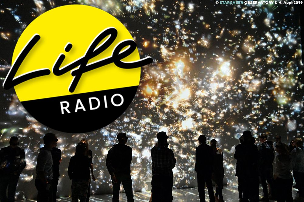 24.03.2020 Astrofotograf Dr. Dietmar Hager on Air bei Life Radio